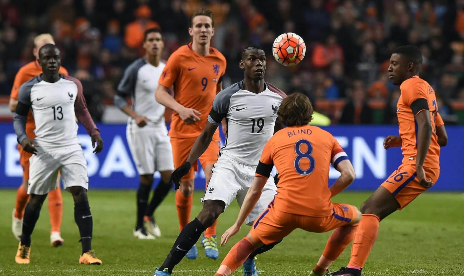 Francja vs Holandia