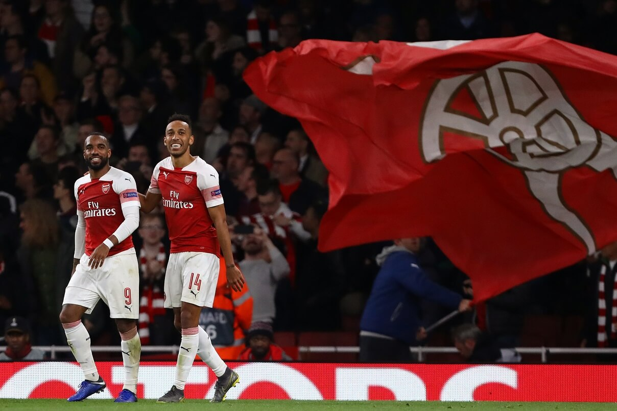 Arsenal Aubameyang Lacazette