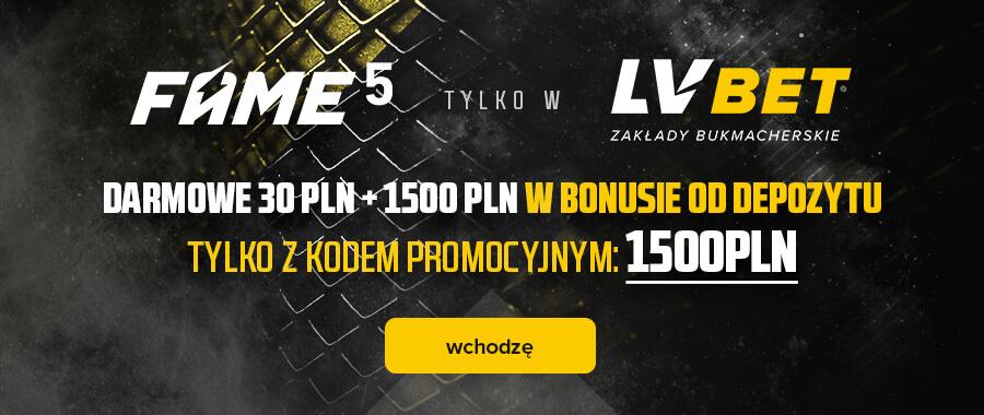 Baner LV BET na Fame MMA 5
