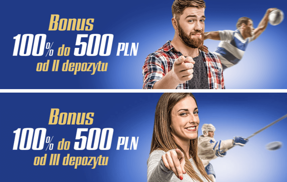 Bonusy od depozytu w eWinner