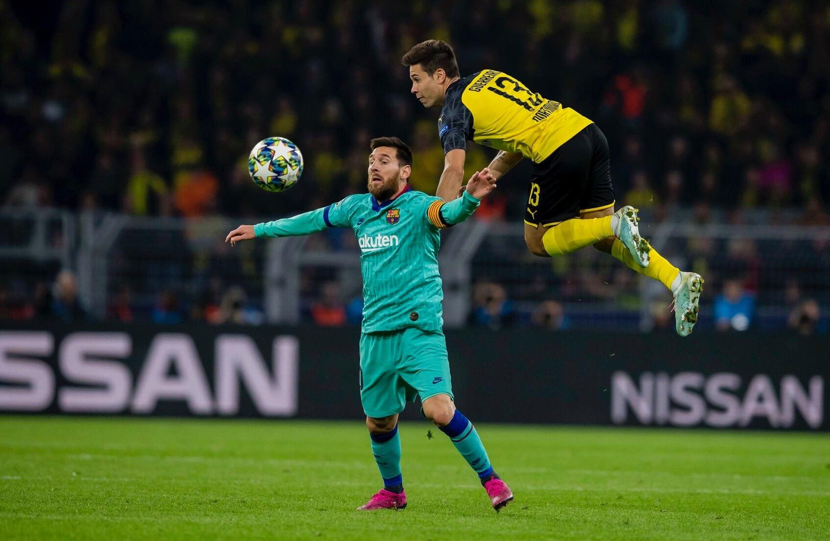 Borussia Dortmund Messi