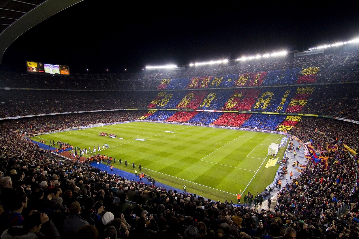 Camp Nou Champions League