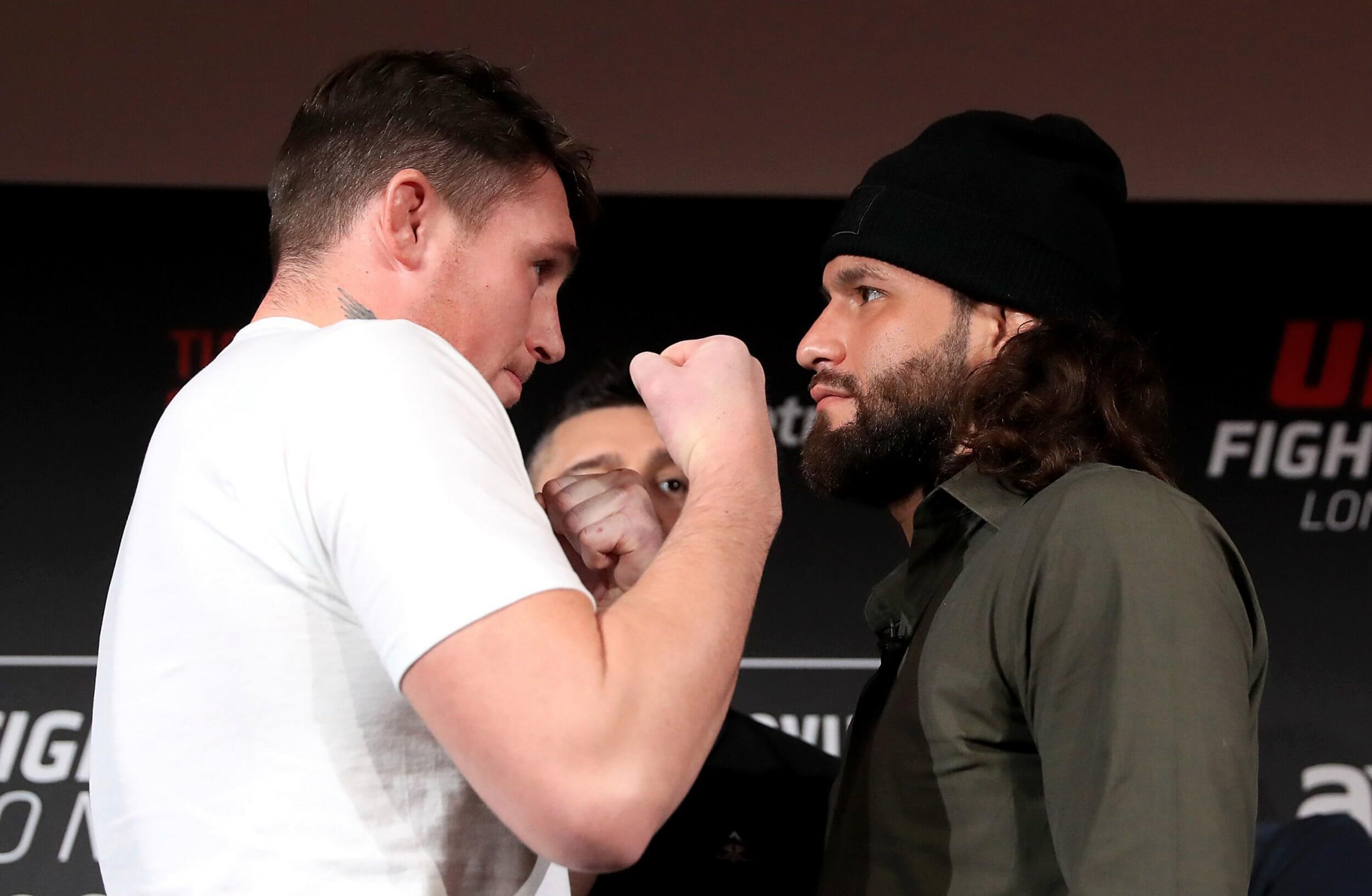 Darren Till i Jorge Masvidal twarzą w twarze przed UFC w Londynie