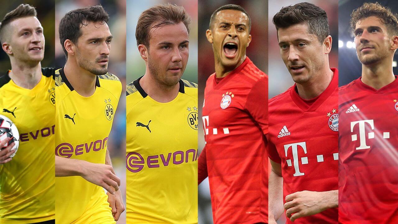 Der Klassiker, Bayern vs Borussia