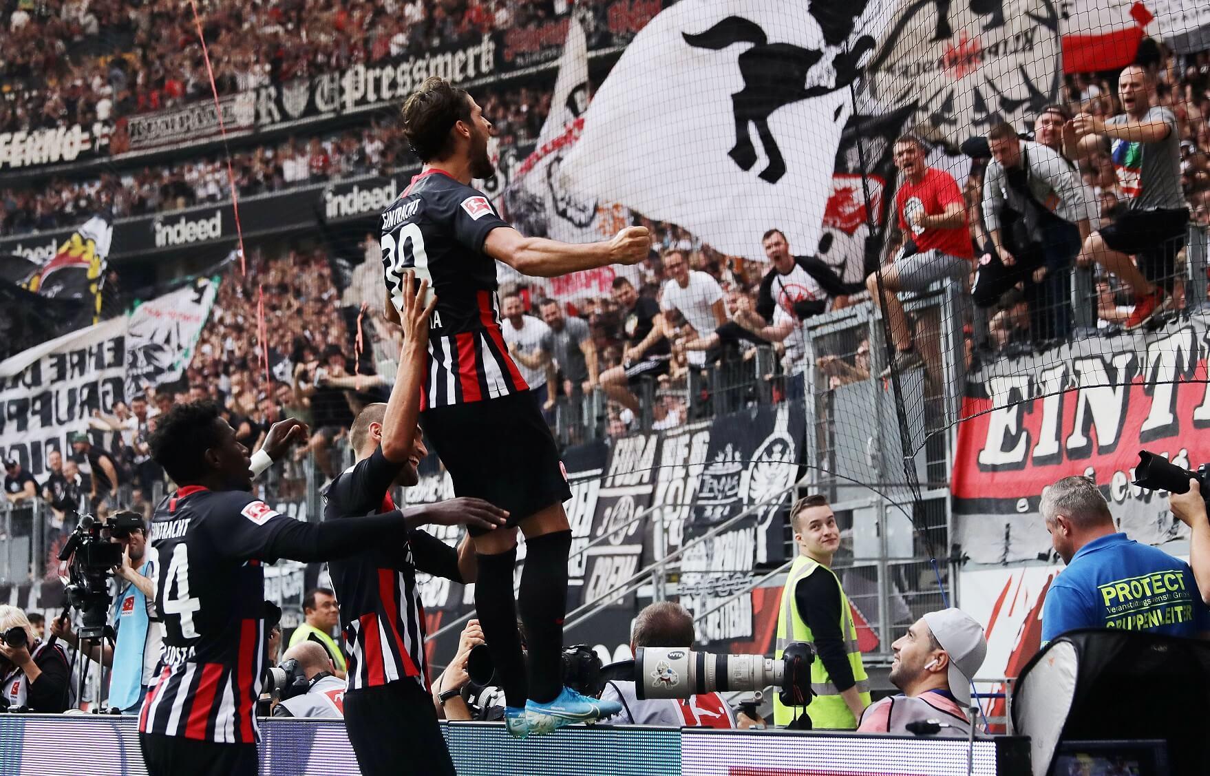 Eintracht Frankfurt Dost Paciencia Da Costa
