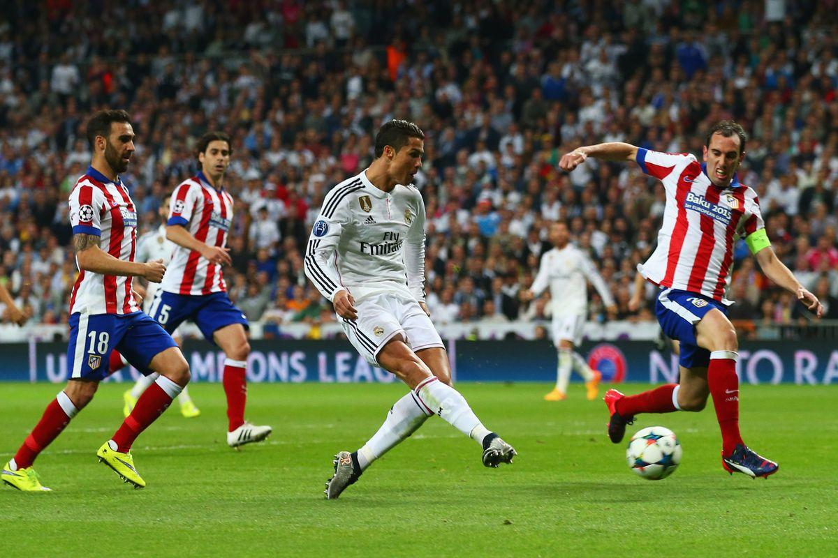 Cristiano Ronaldo przeciwko Atletico Madryt