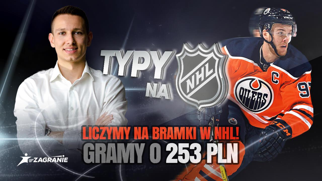 Okładka na analizy i typy do NHL