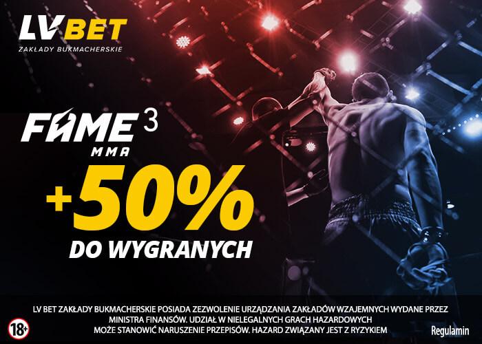 Promocja LVBETu na FAME MMA 3