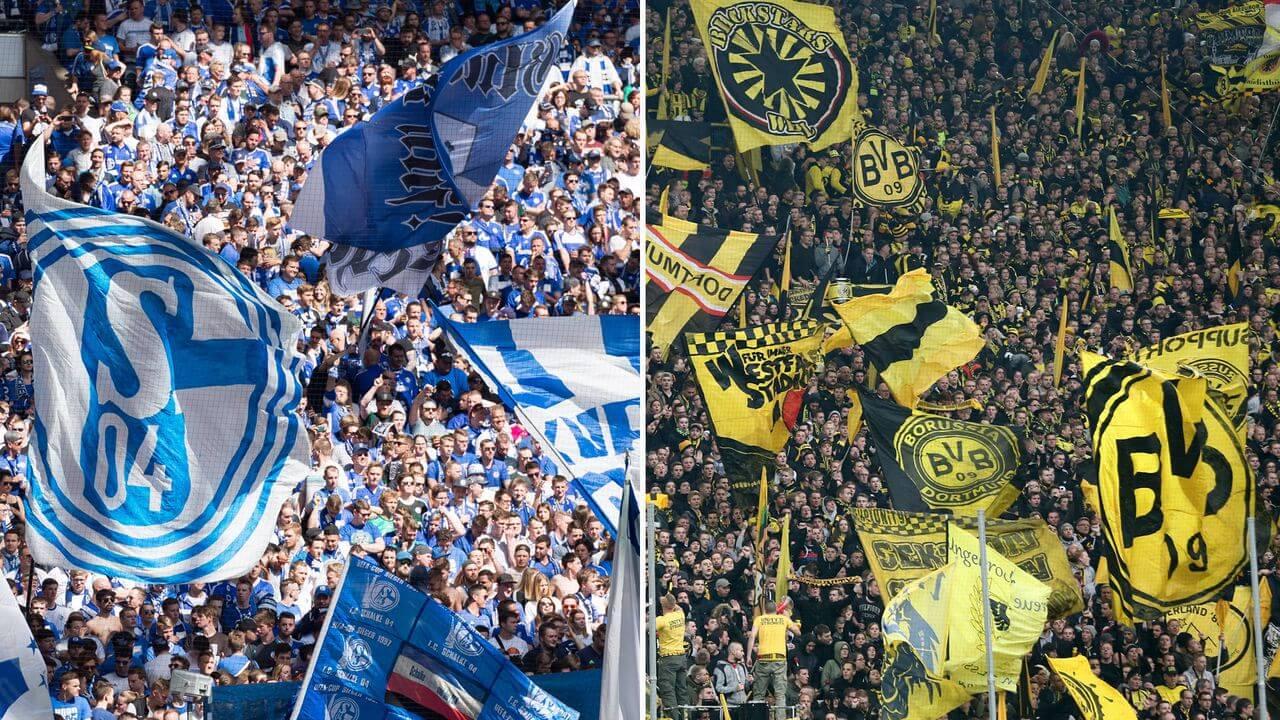 Revierderby Schalke vs Borussia Dortmund