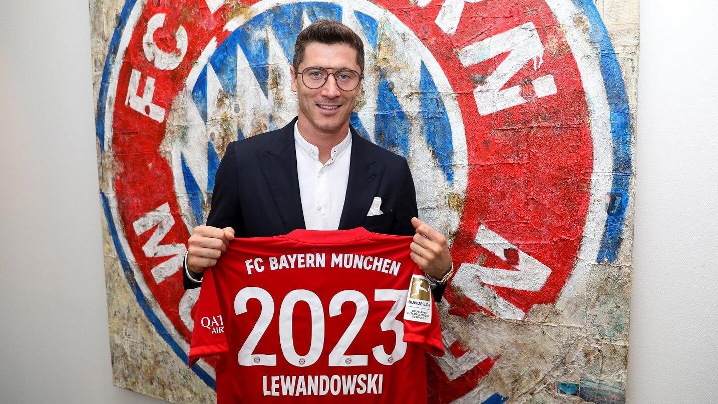 Robert Lewandowski nowa umowa Bayern Monachium