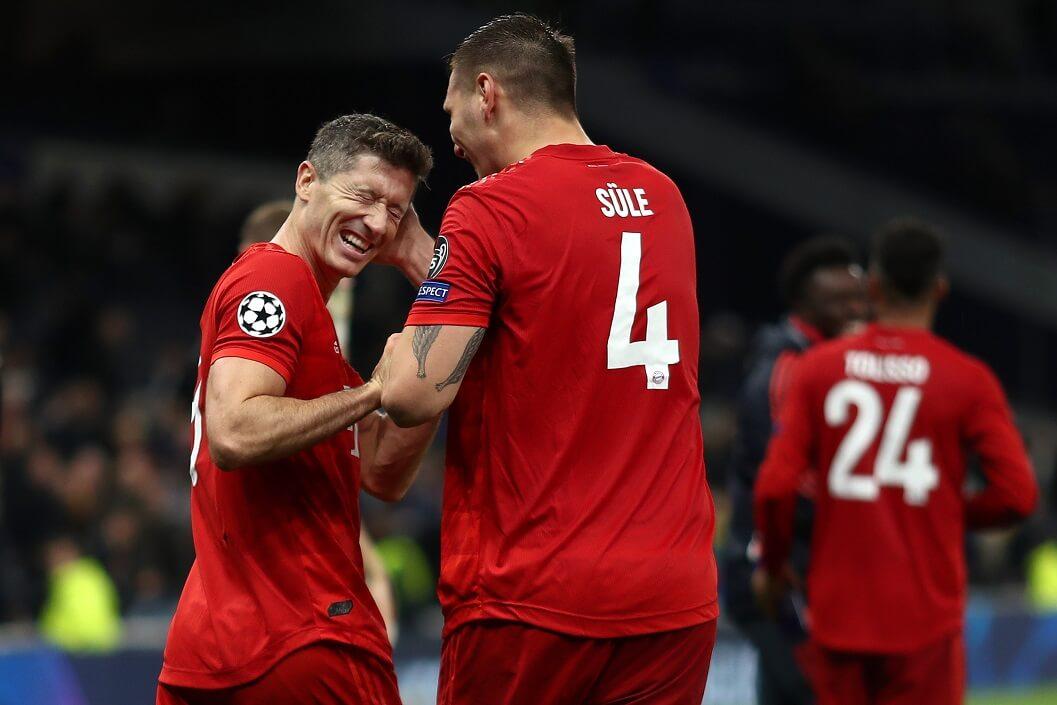 Mecz Ligi Mistrzów Bayern vs Tottenham