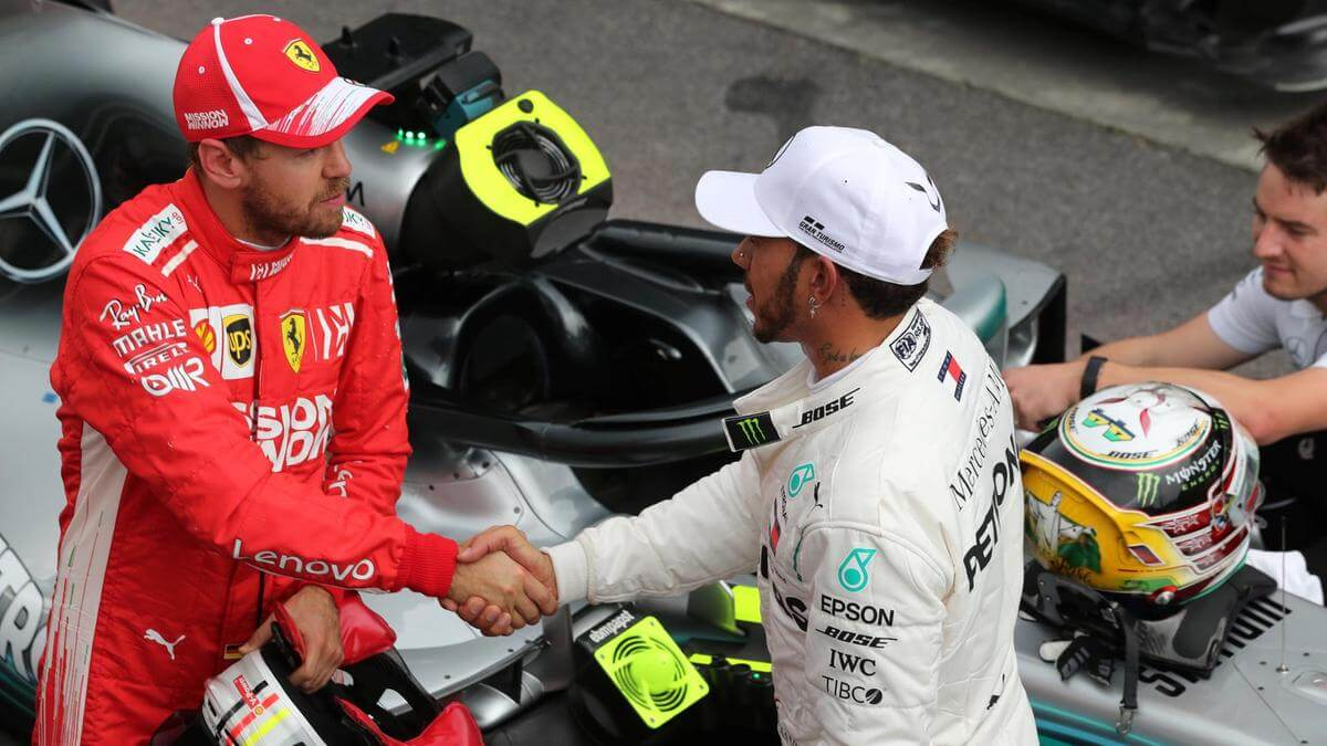 Sebastian Vettel i Lewis Hamilton faworytami Totolotka do MŚ w F1
