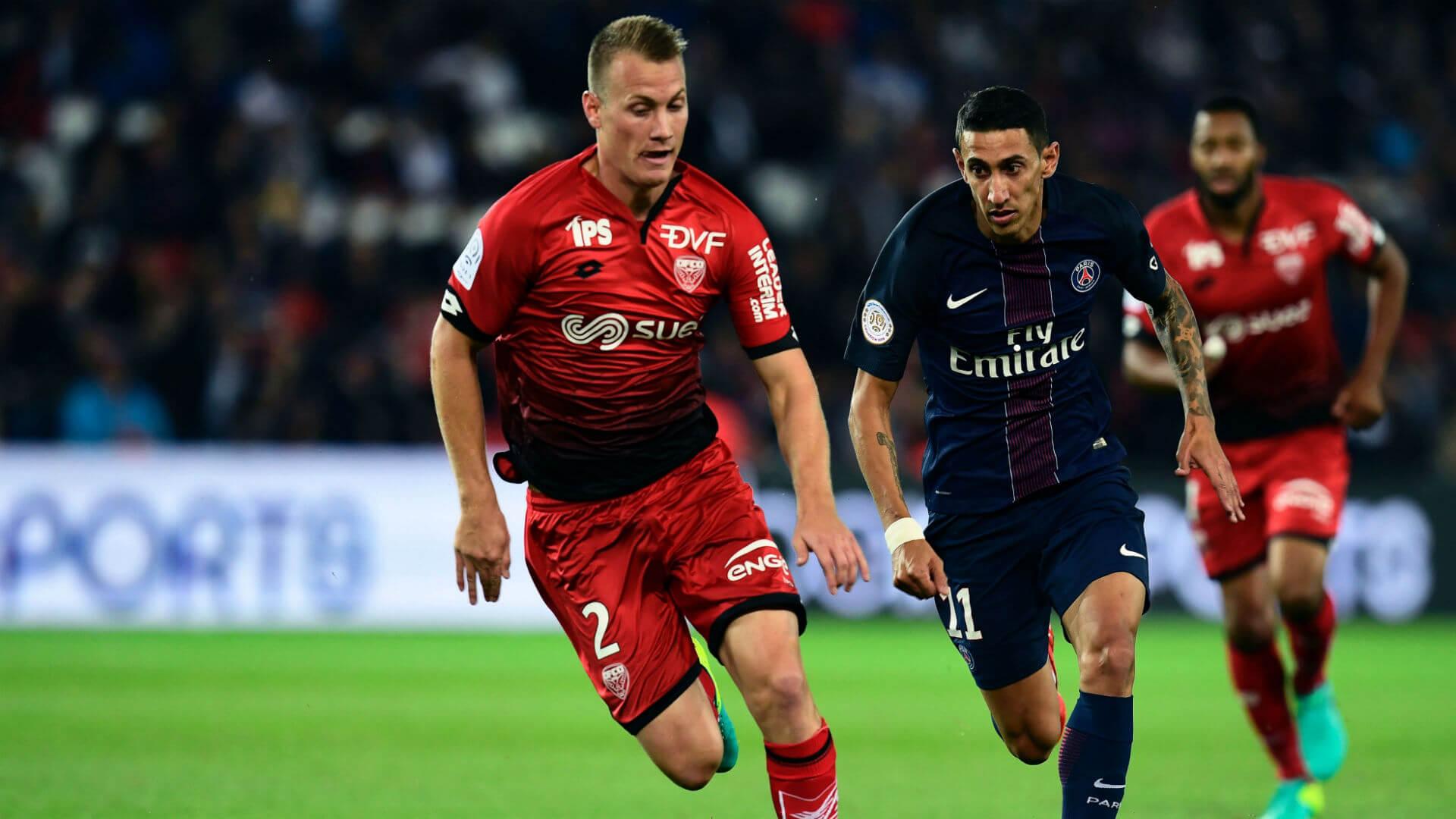 Dijon vs PSG