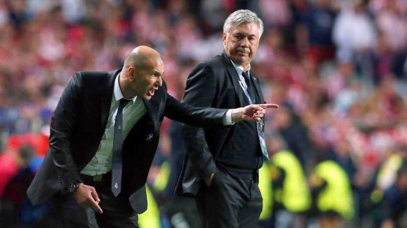 Ancelotti i Zidane