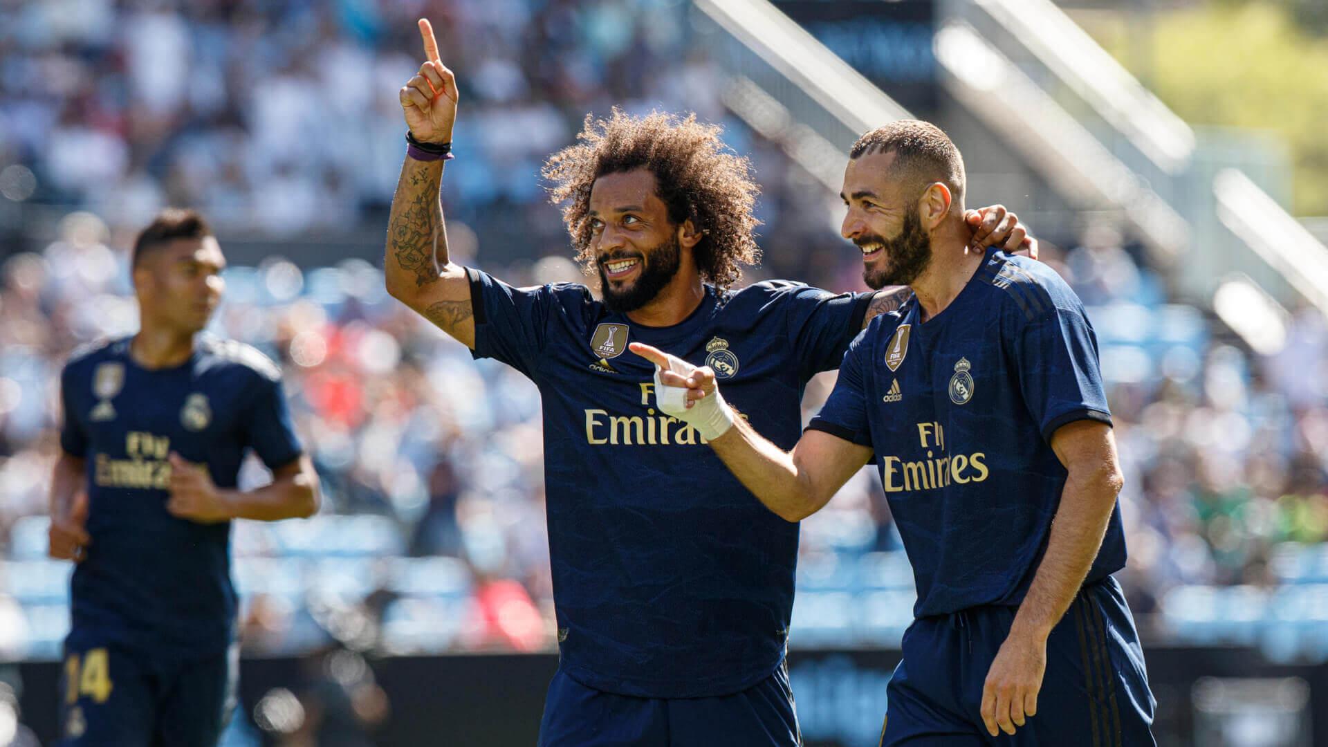 Marcelo i Benzema