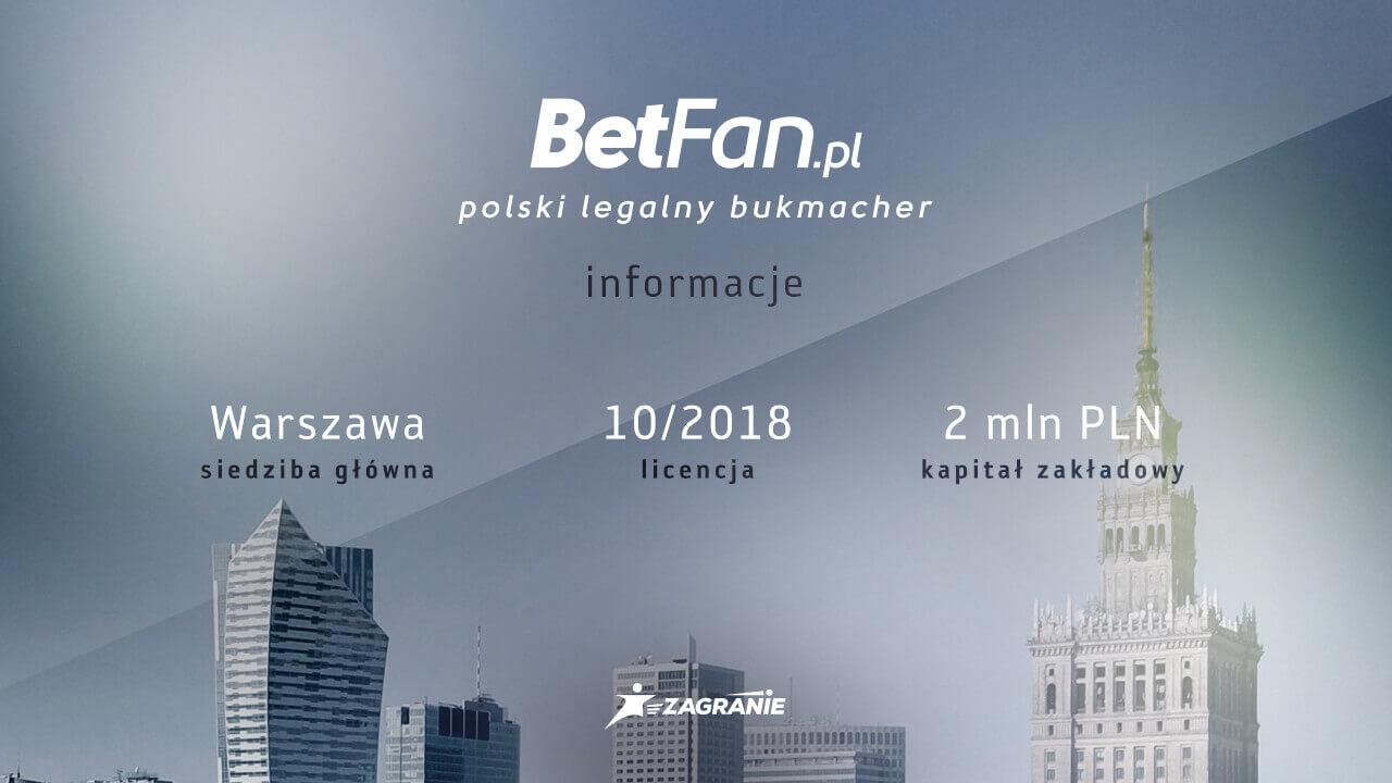 BetFan bonus - informacje o ofercie i bukmacherze