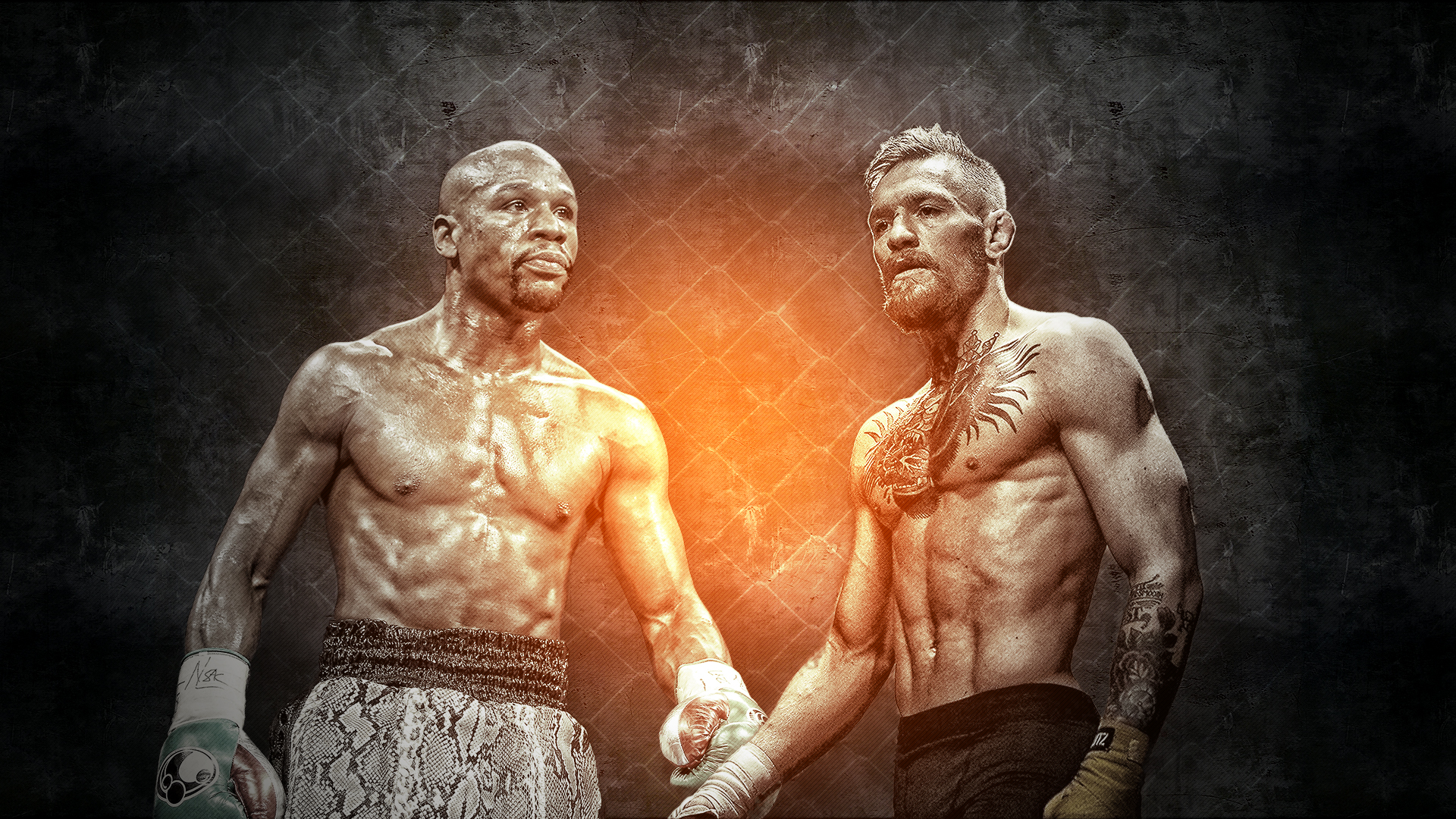 Mayweather vs McGregor - cover