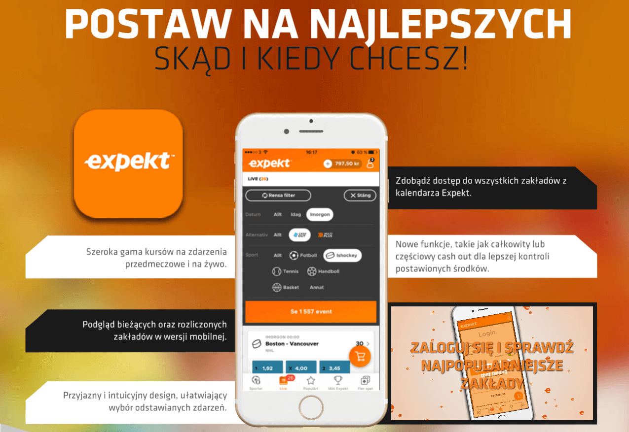 Expekt - aplikacja mobilna