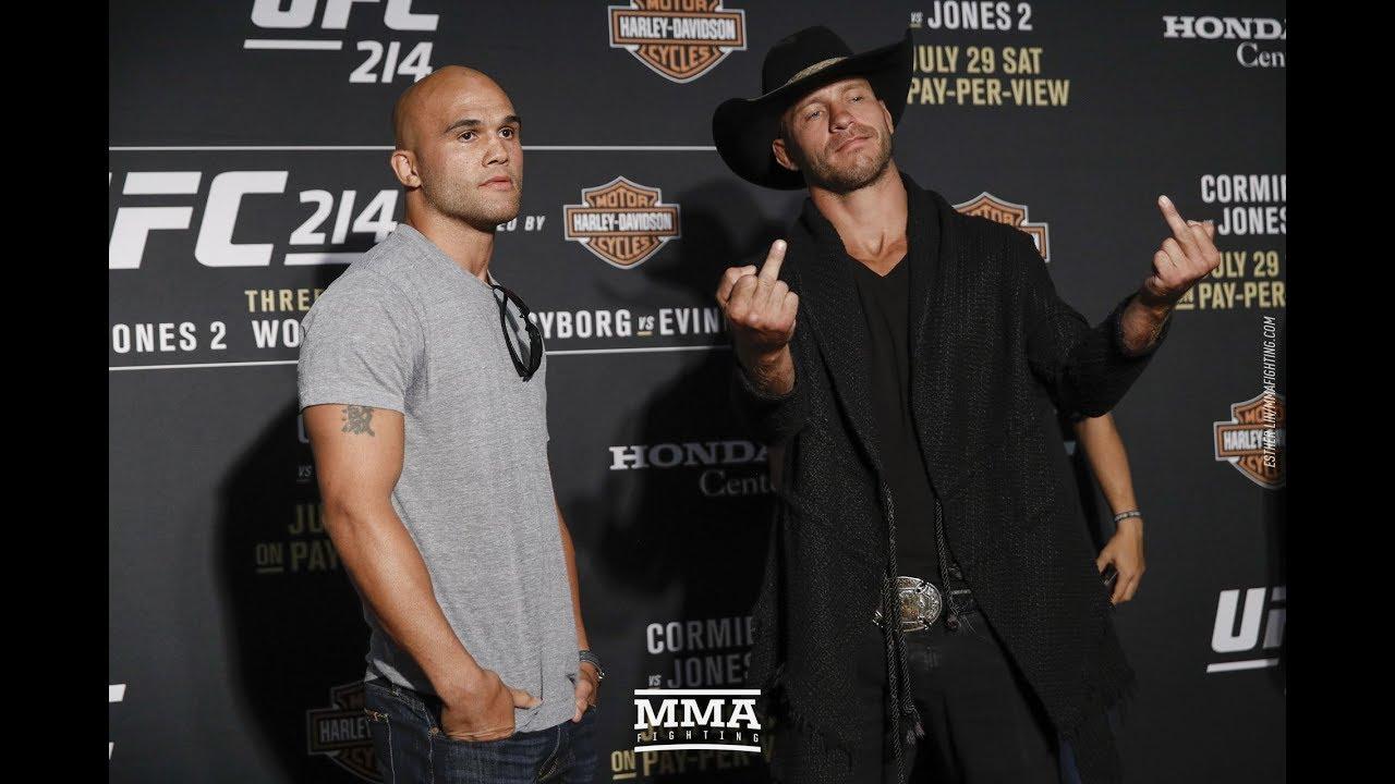 Lawler i Cerrone przed UFC 214