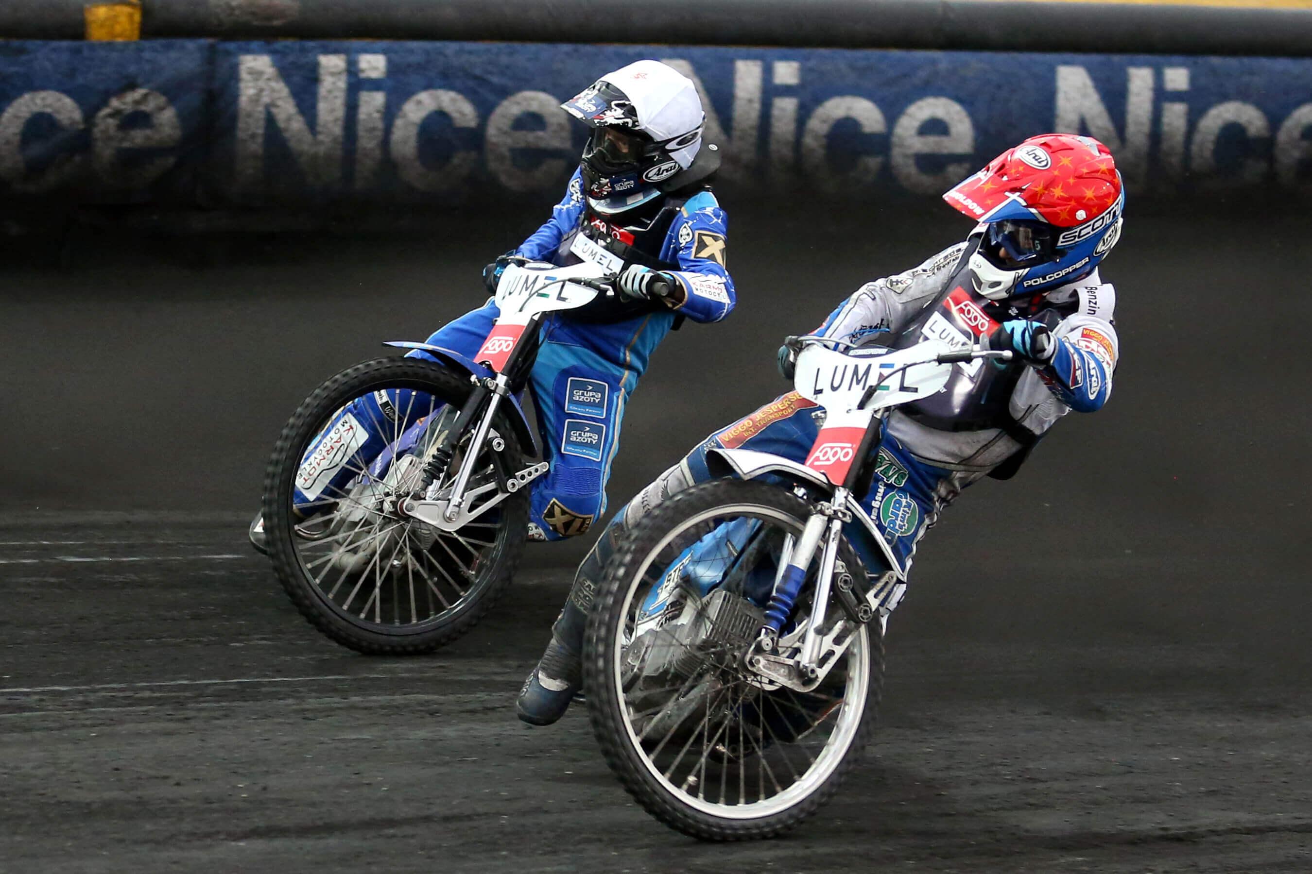Leon Madsen i Nicki Pedersen