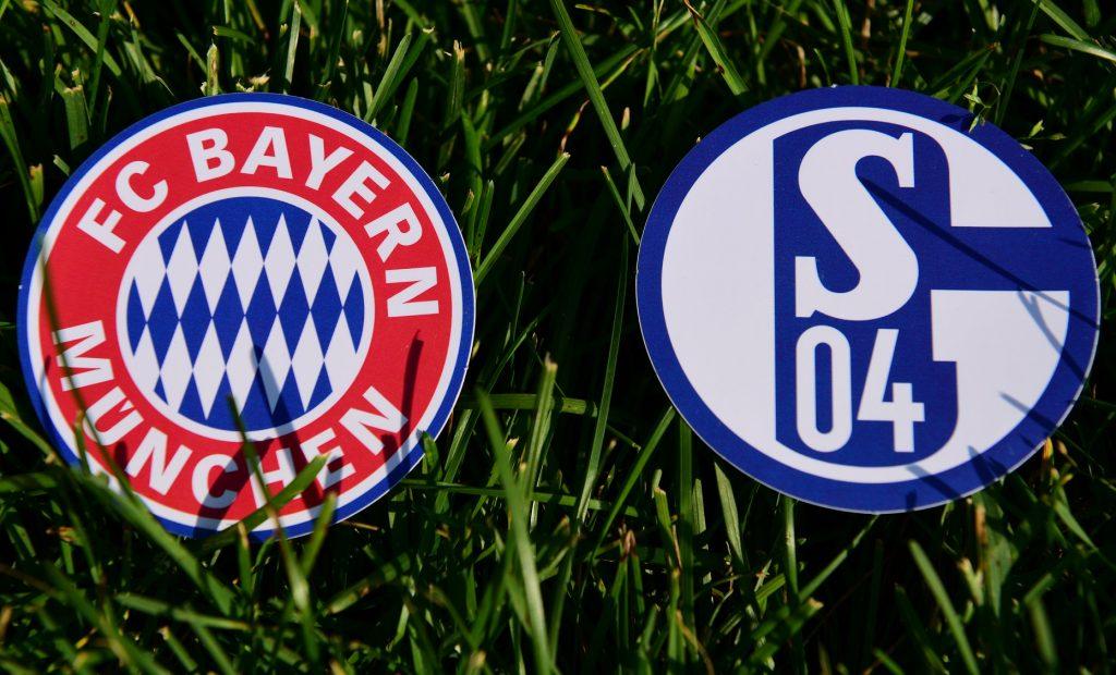 Bayern vs Schalke herby zdjęcie