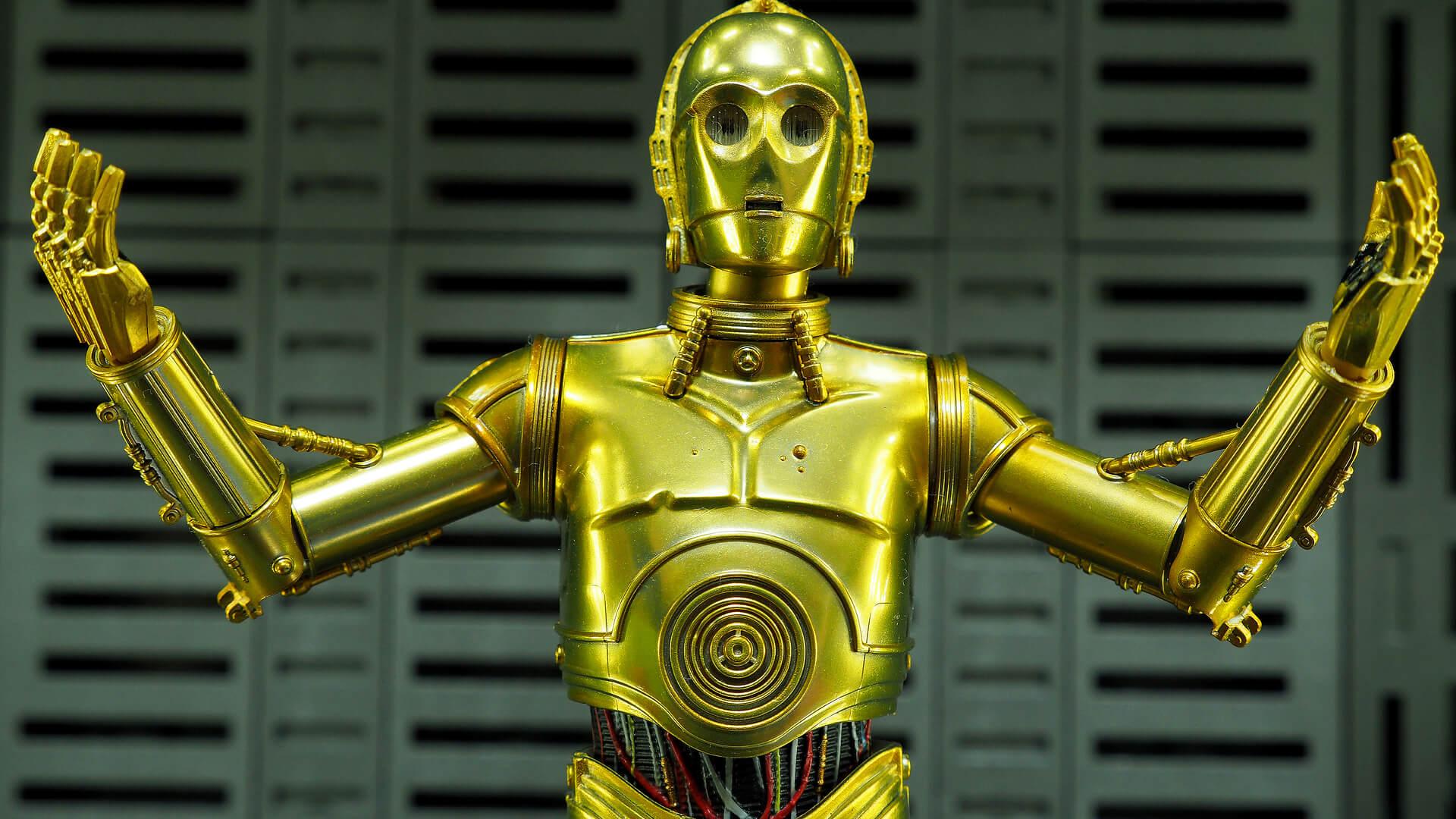 Droid C3PO z Gwiezdnych Wojen