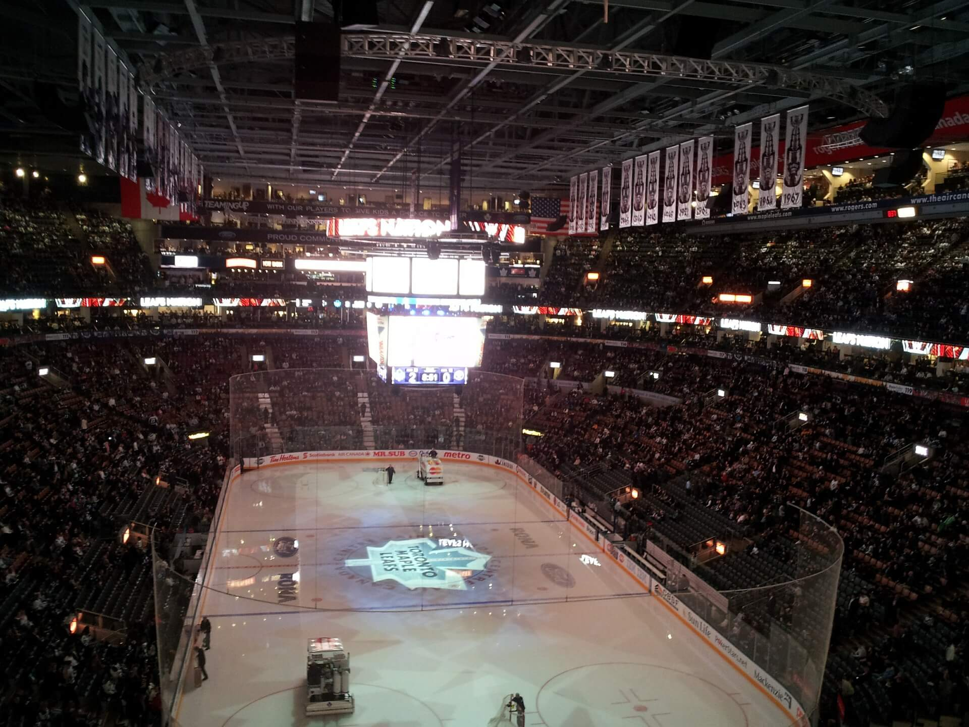 Lodowisko Toronto Maple Leafs w NHL