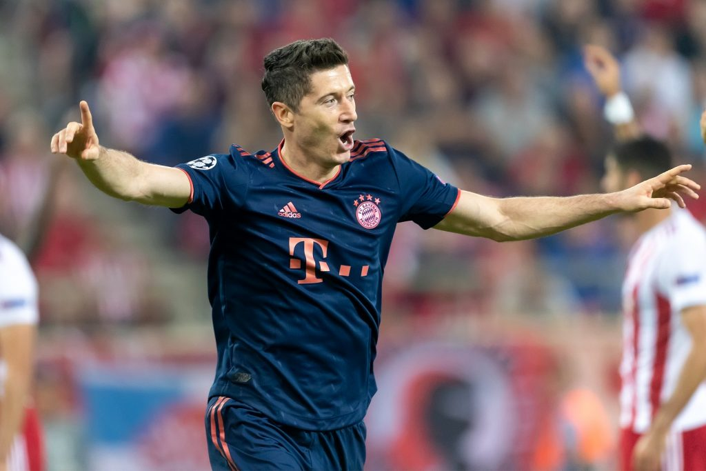 Robert Lewandowski radosc