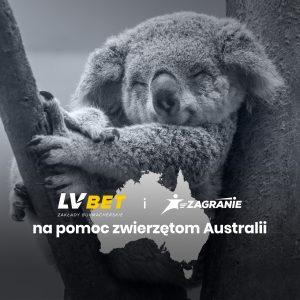 LV BET i Zagranie na pomoc zwierzętom Australii