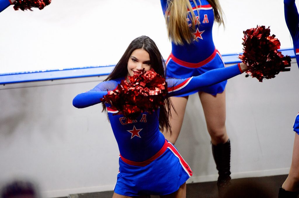 SKA hokej cheerleader KHL