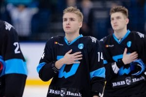 Zawodnicy Dynama Mińsk