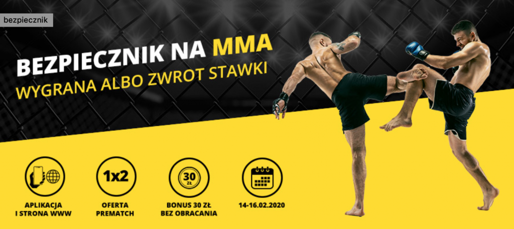 bezpiecznik na MMA