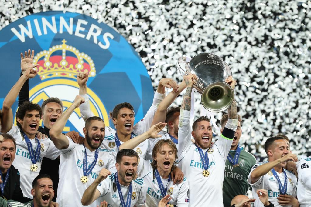 real madryt champions league